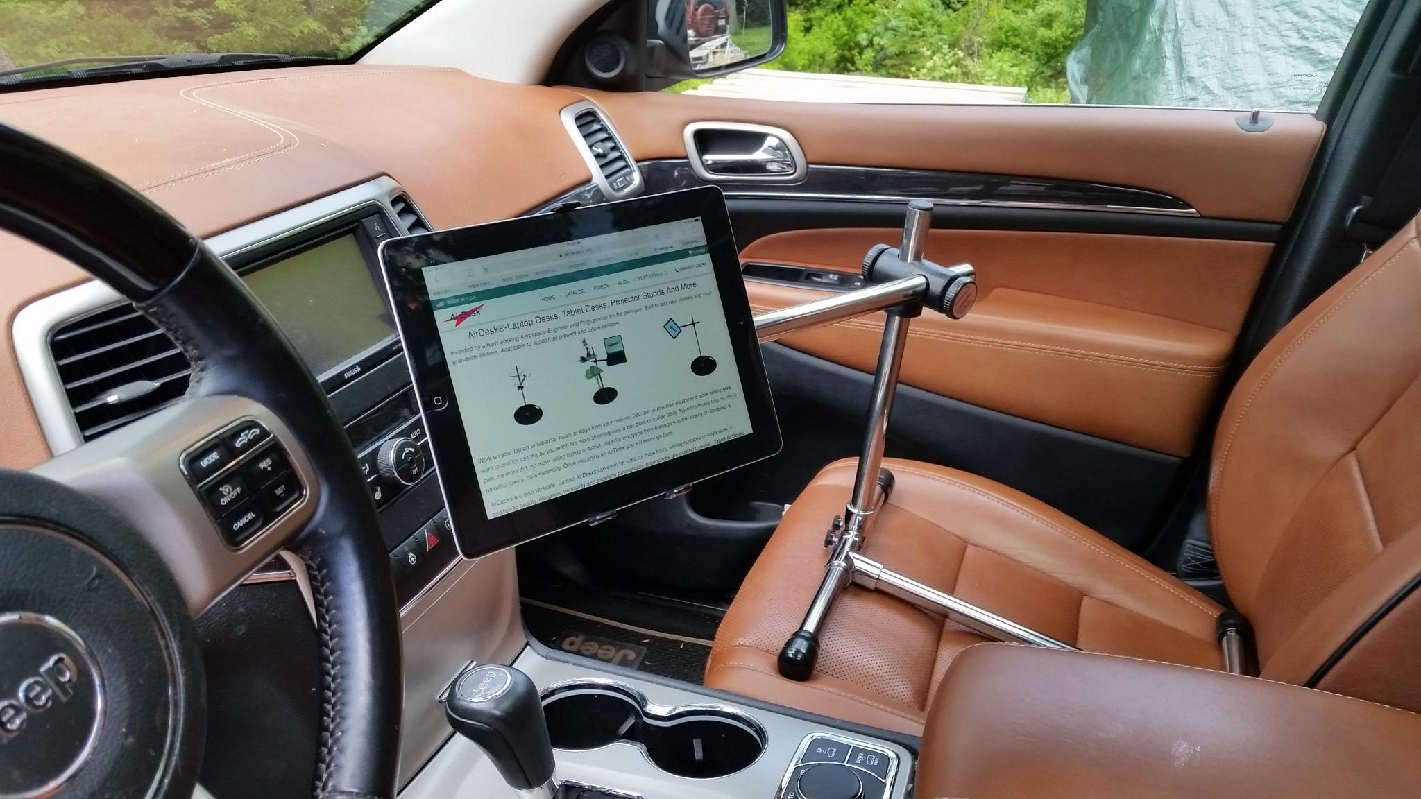 Mobile Airdesk Driver View Cartablet
