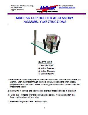 AirDesk-CUP-HOLDER