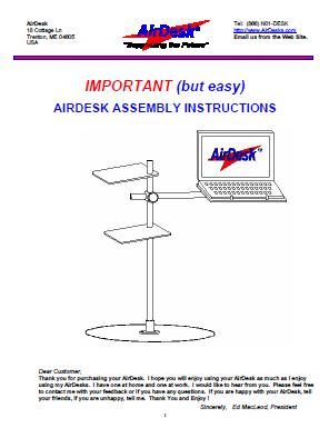 AirDesk-LAPTOP-DESK-ASSEMBLY